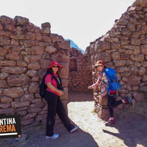 Un Camino diferente hacia las ruinas Incas.