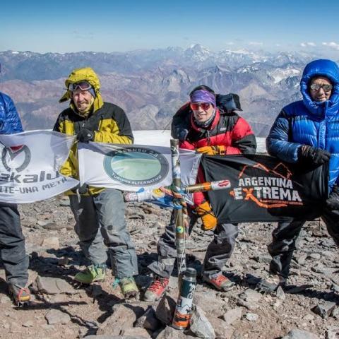 """""""Argentinos al Aconcagua"""" representa un sistema de unificación, planificación y preparación para el ascenso de la montaña más alta del continente Americano"""