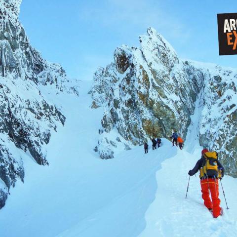 trekking ushuaia invierno nieve 05