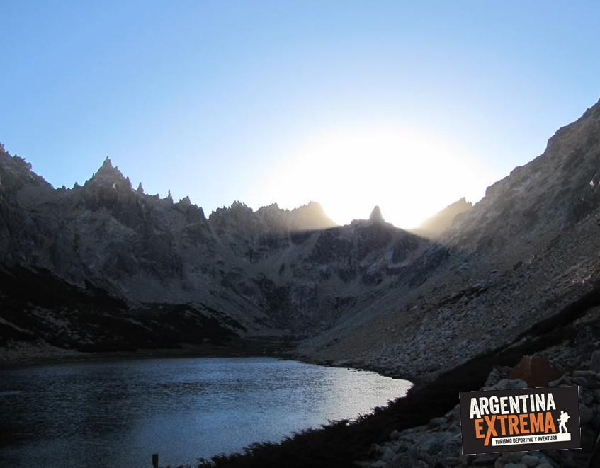 laguna Tonceck Bariloche Trek