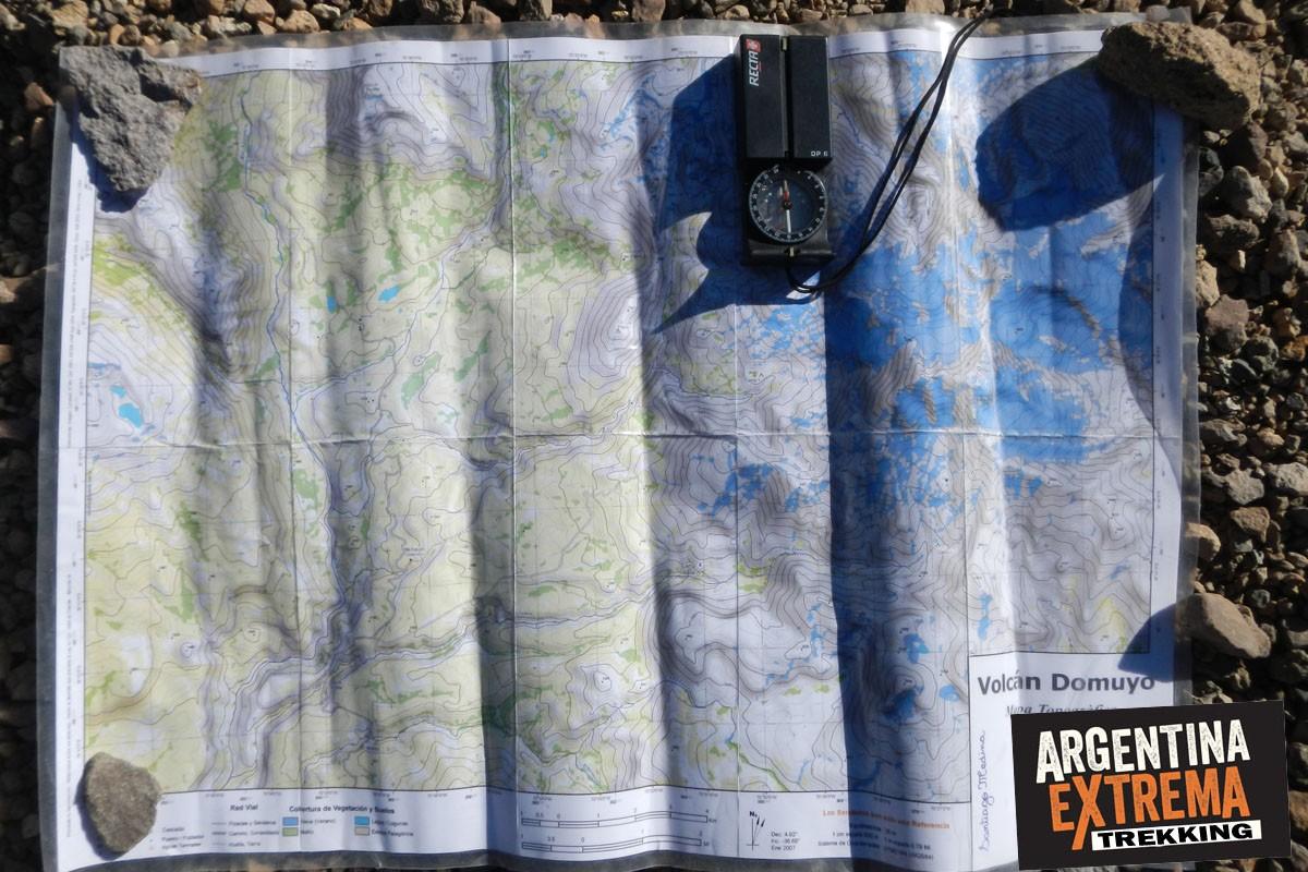 mapa Domuyo