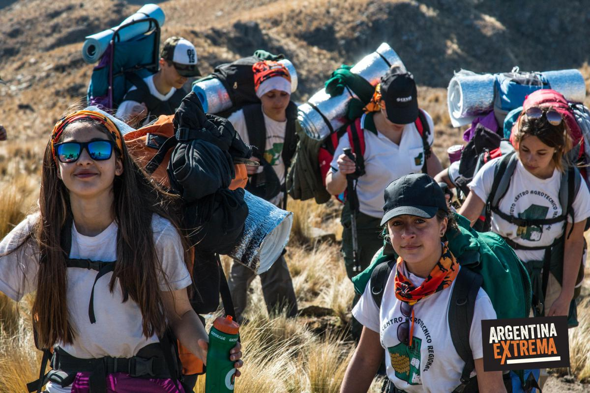 Trekking en la sierra de los Comechingones
