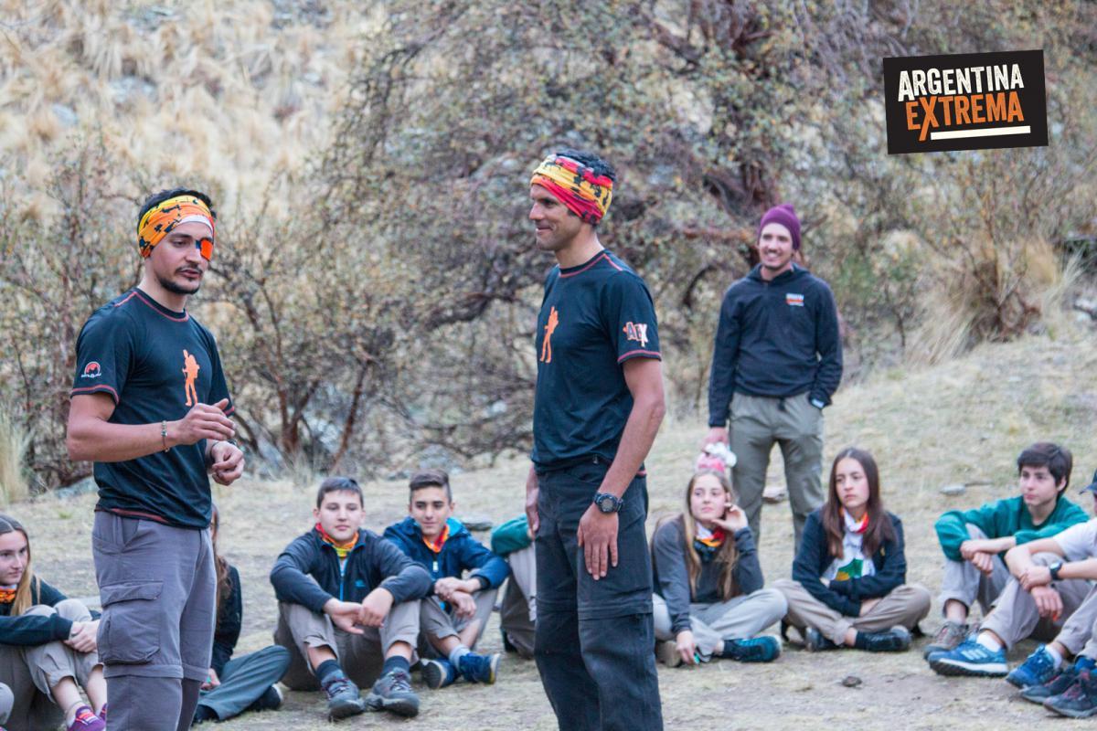 Actividades recreativas a cargo de los Guias AEX - Trekking en la sierra de los Comechingones