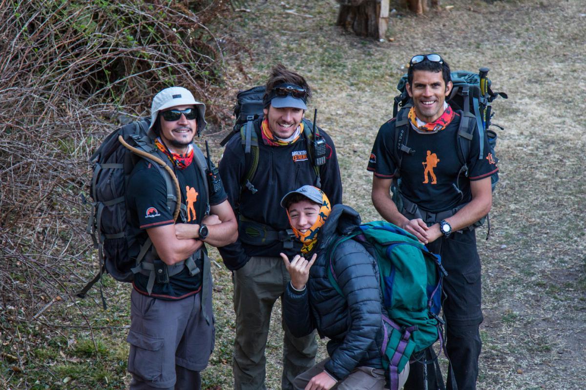 Guias y un coladito - Trekking en la sierra de los Comechingones