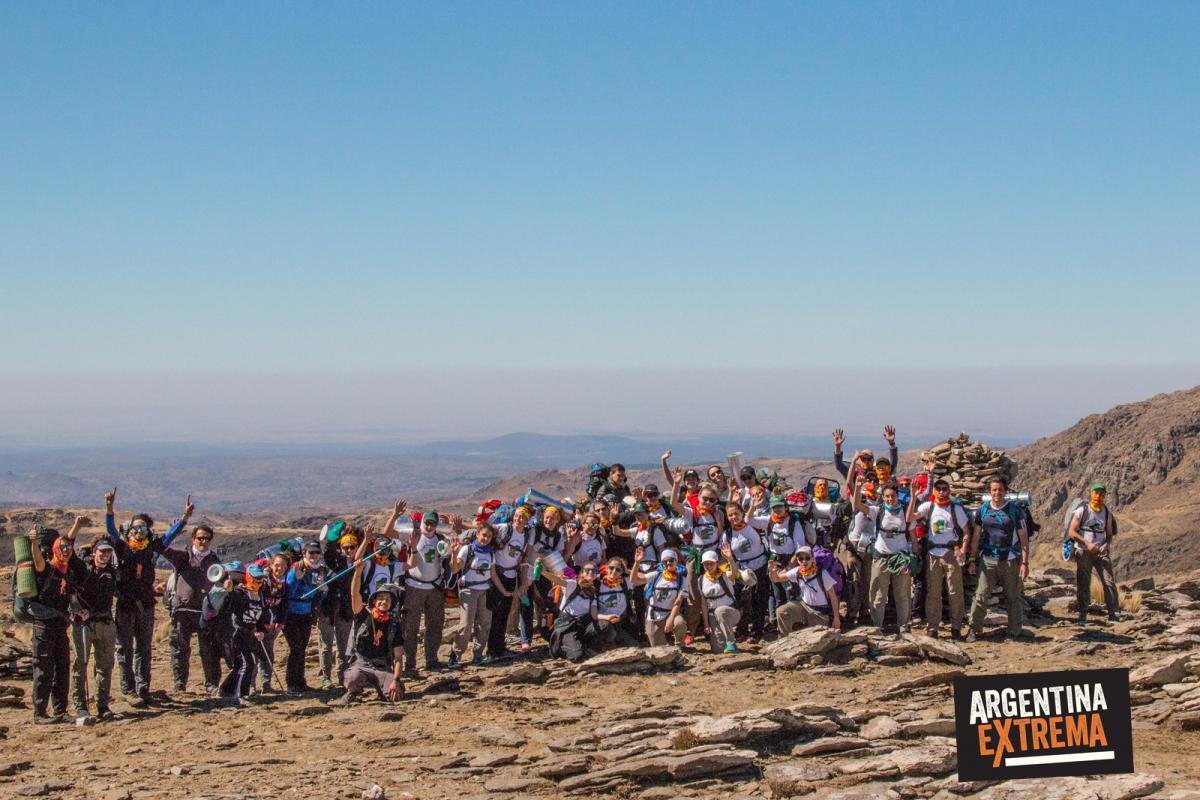 Grupo Completo Colegio - Trekking en la sierra de los Comechingones