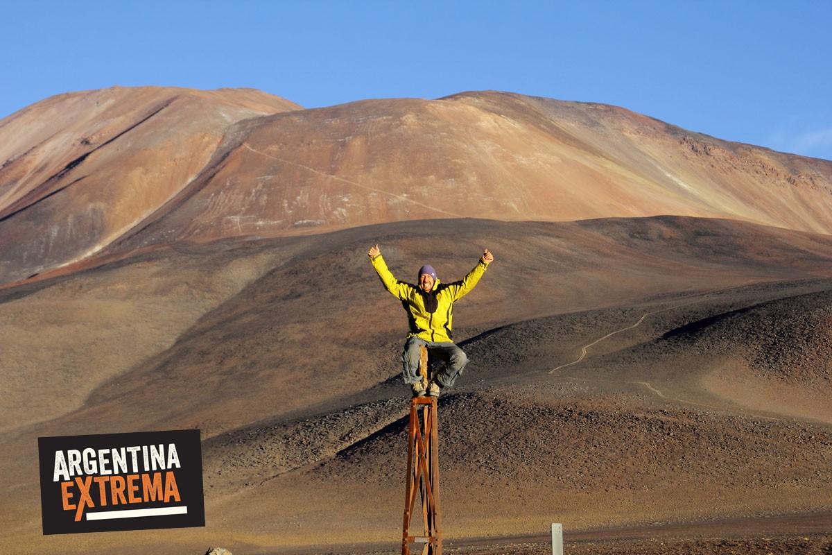 Paso San Francisco - Limite con Chile - Catamarca