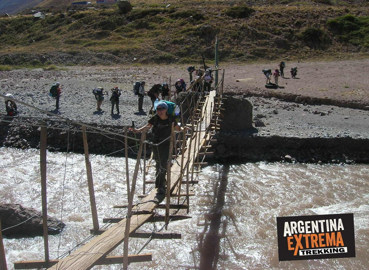 puente Rio Cuevas Penitentes