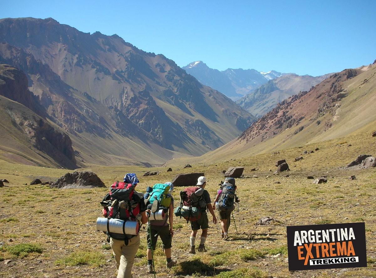 quebrada del Blanco Trekking Mendoza