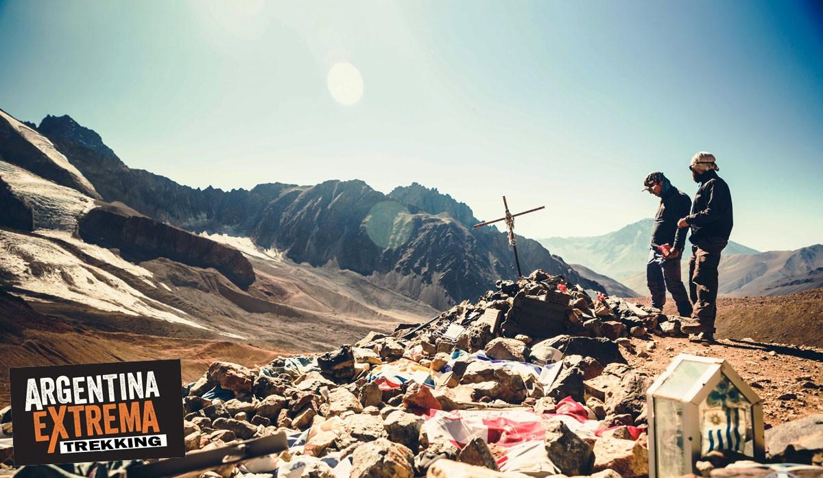 restos avion de los uruguayos trekking