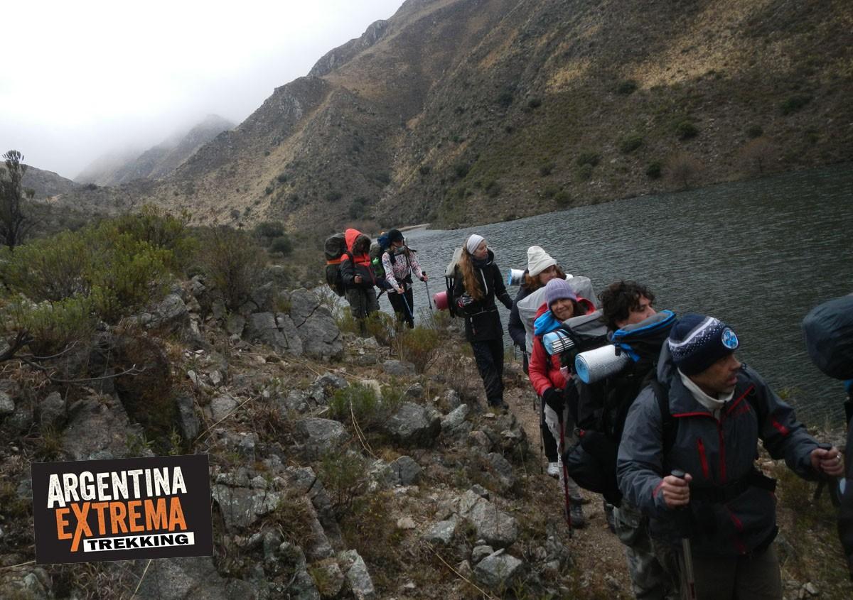 trekking Dique Los Alazanes