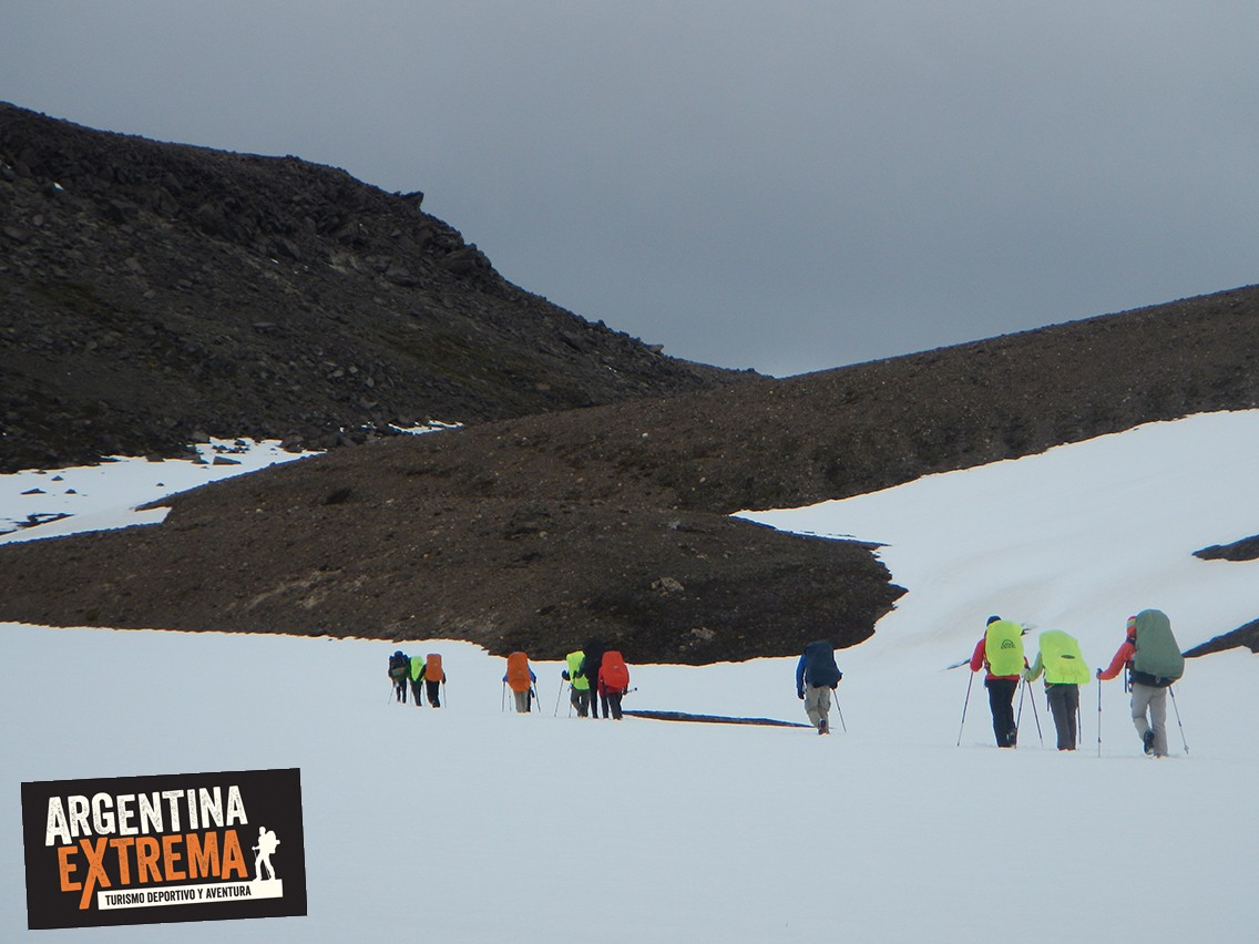 trekking Paso del Mallin Patagonia