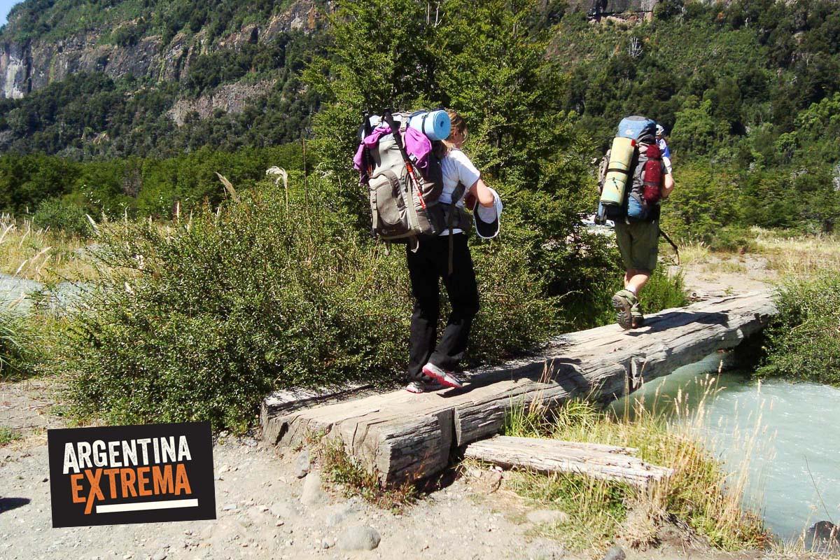 trekking bariloche cruce andes vuriloche