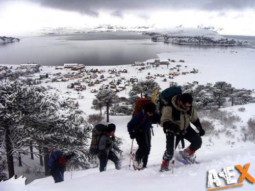 trekking con raquetas caviahuejpg737