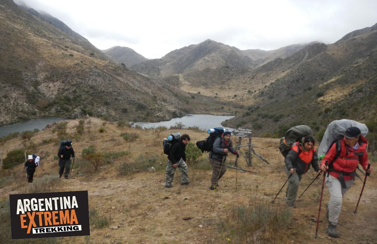 trekking en dique los Alazanes