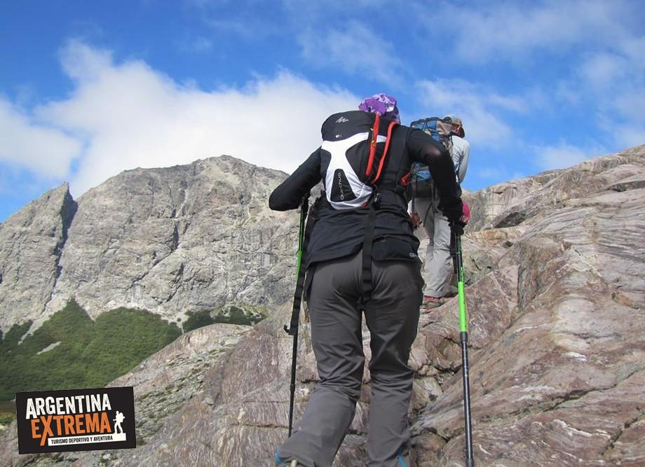 trekking jakob los tempanos