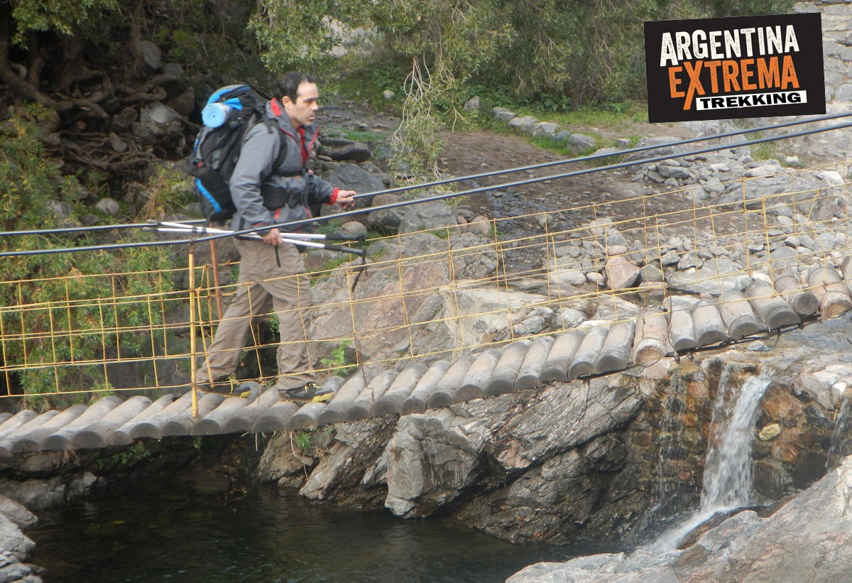 trekking puente colgante