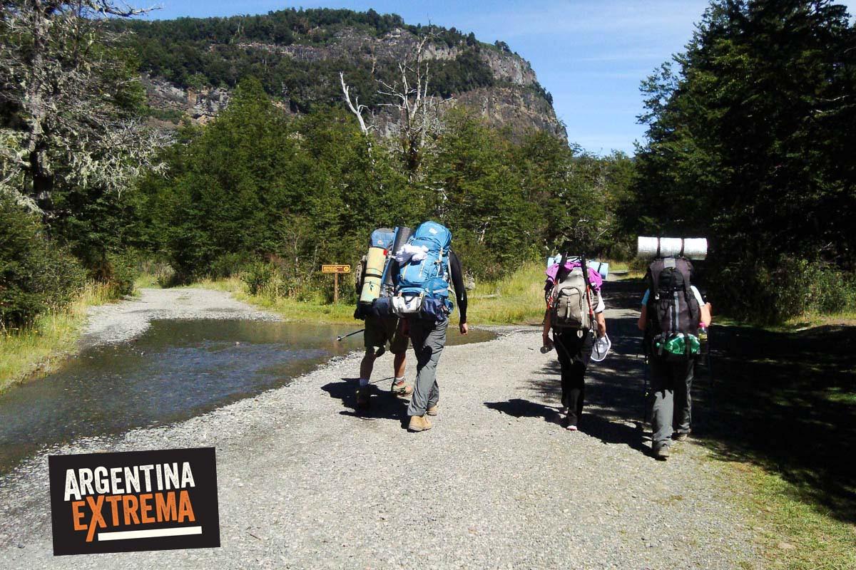 trekking vuriloche bariloche argentina