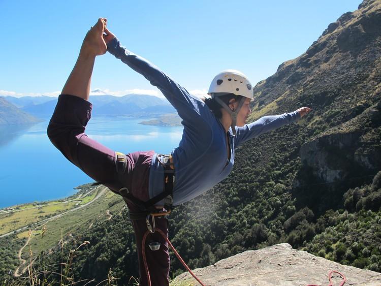 Escalada y Yoga