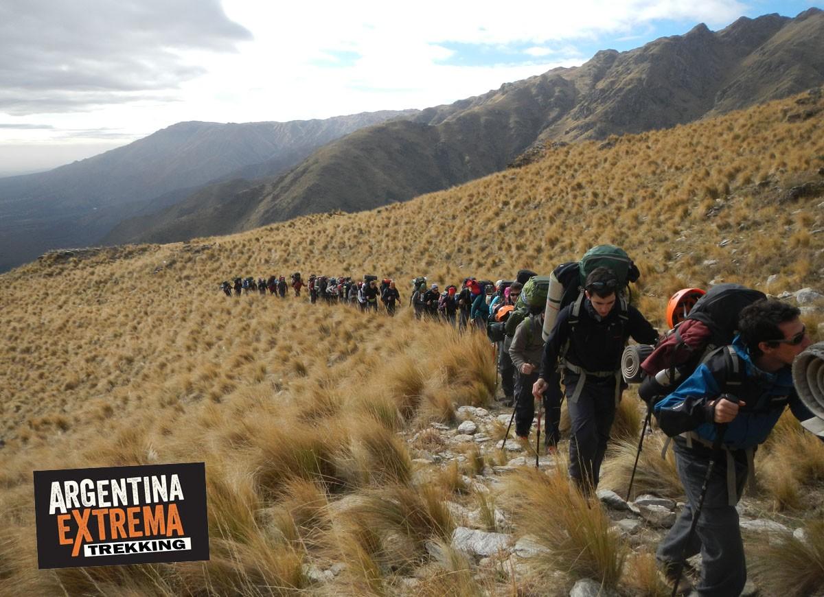 Sierra de los Comechingones San Luis Trekking