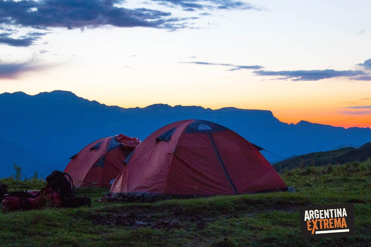 campamento alto