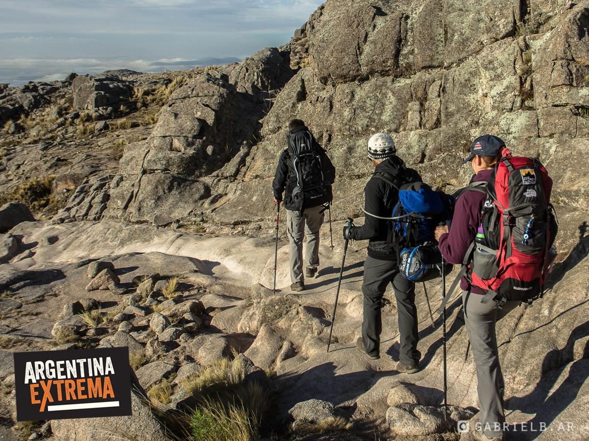 actividad del mes gem simulacion ascenso cerros penitentes y volcan lanin 985
