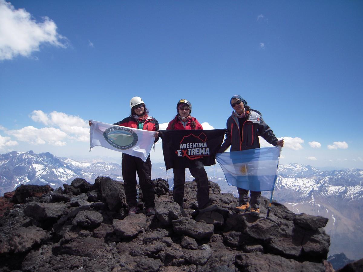 ascenso al cerro el sosneado 5169 msnm 936