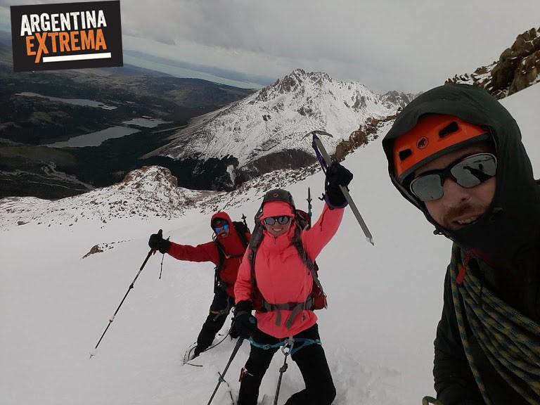 ascenso al Cerro Madsen