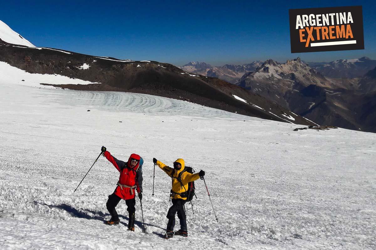 ascenso al volcan maipo 5320 msnm  542