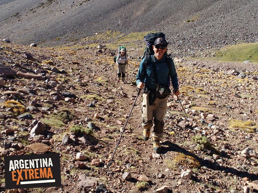 ascenso cordon de ansilta san juan pico n4 340