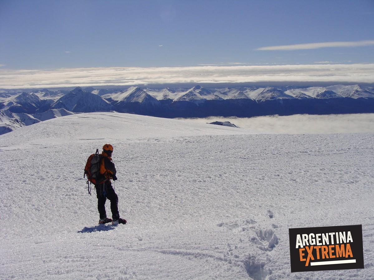 ascenso monte alvear ushuaia grupo entrenamiento 130