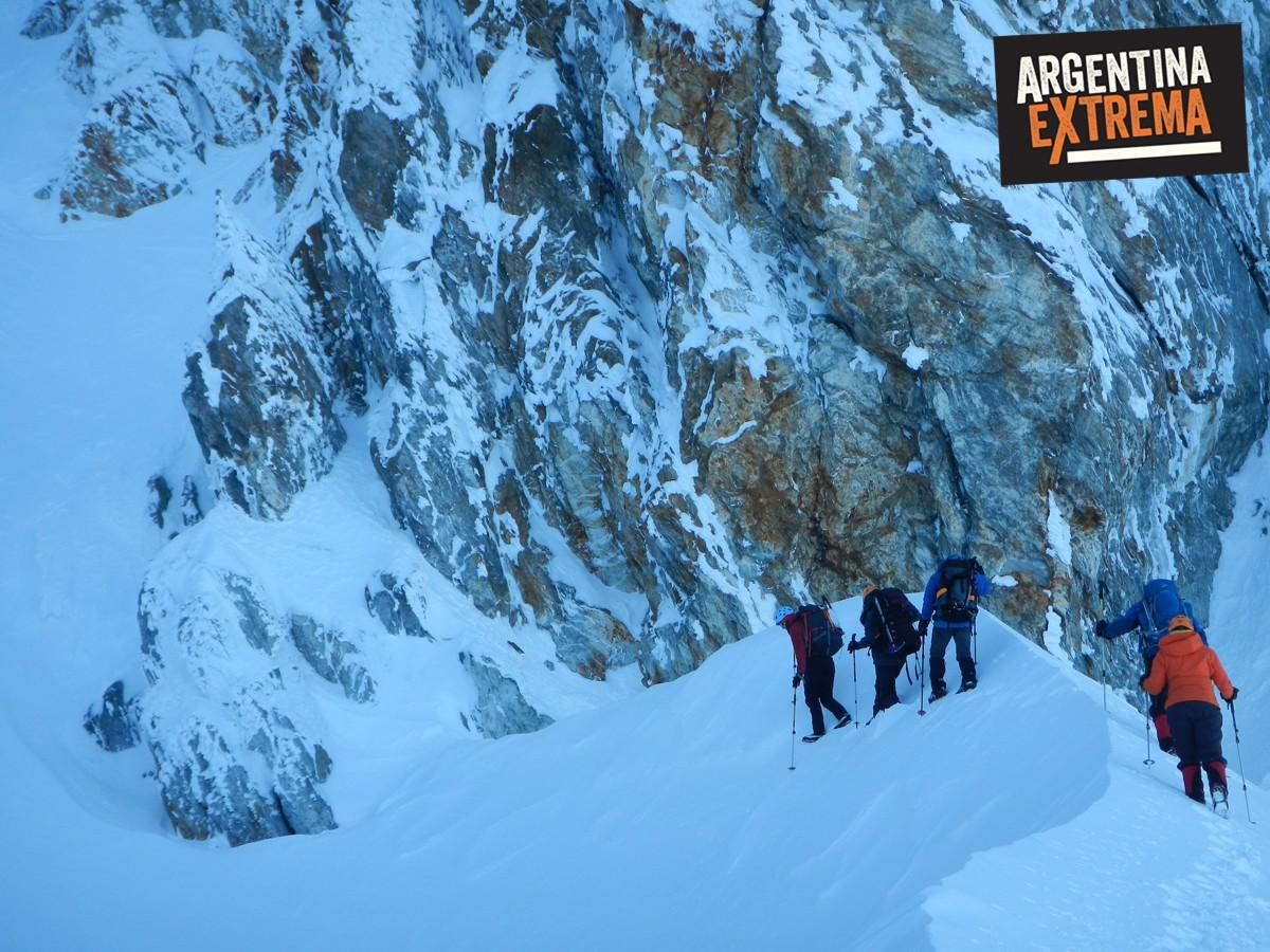 ascenso monte alvear ushuaia grupo entrenamiento 348