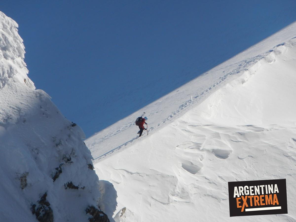 ascenso monte alvear ushuaia grupo entrenamiento 561