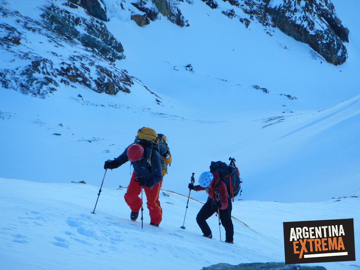ascenso monte alvear ushuaia grupo entrenamiento 612