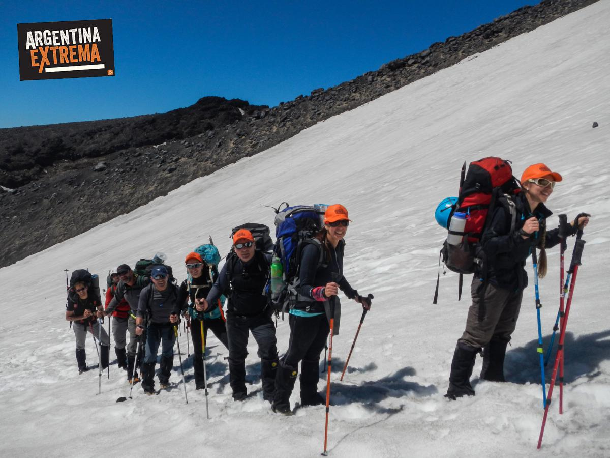 ascenso volcan lanin trekking argentina extrema 014