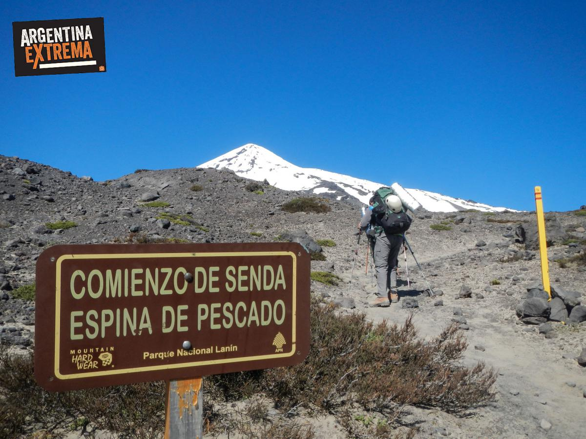ascenso volcan lanin trekking argentina extrema 015