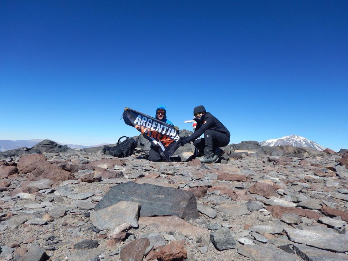 Cumbre: Volcán San Francisco 6040 msnm - Catamarca