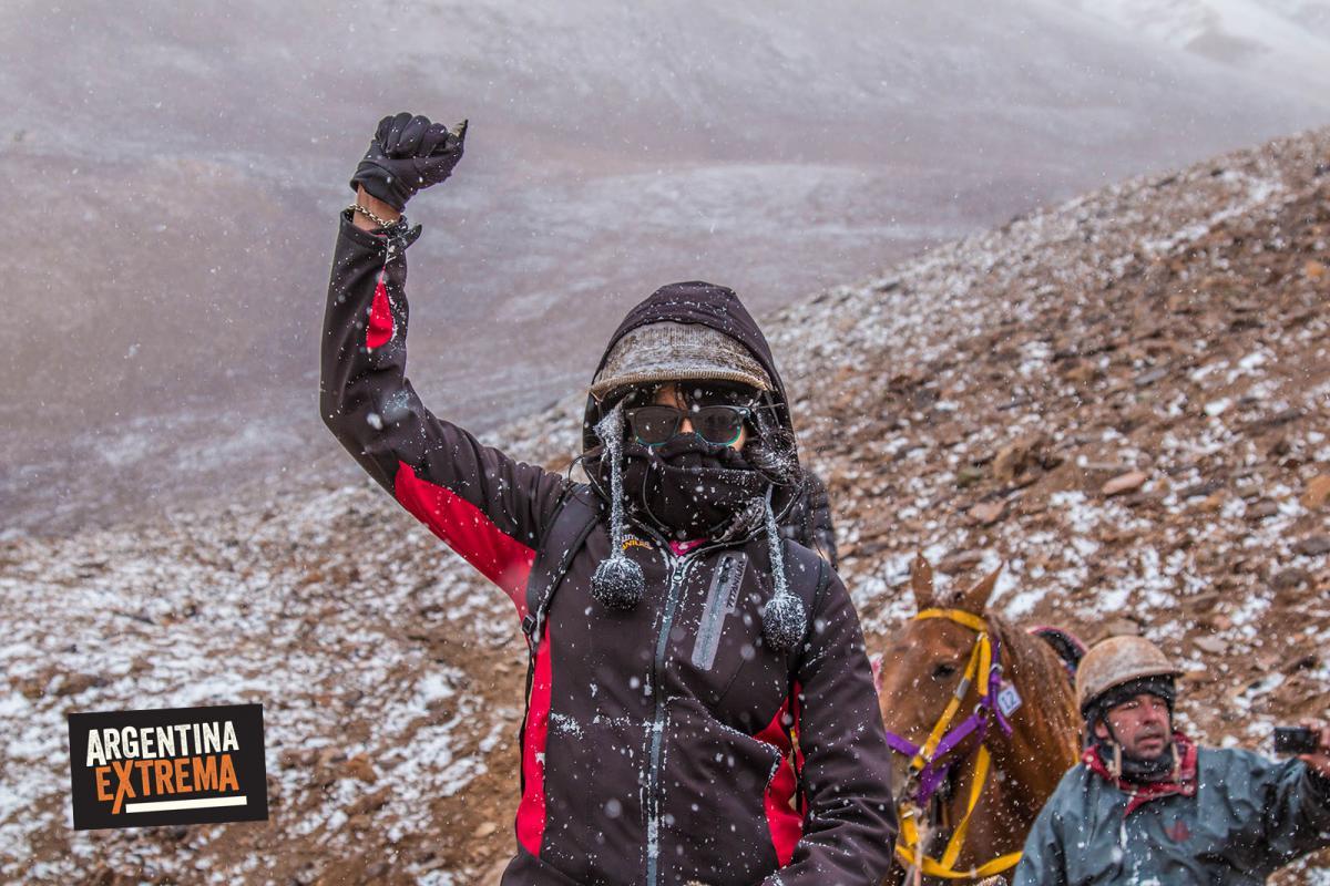 Aventureros en el Cruce de los Andes Sannmatiniano