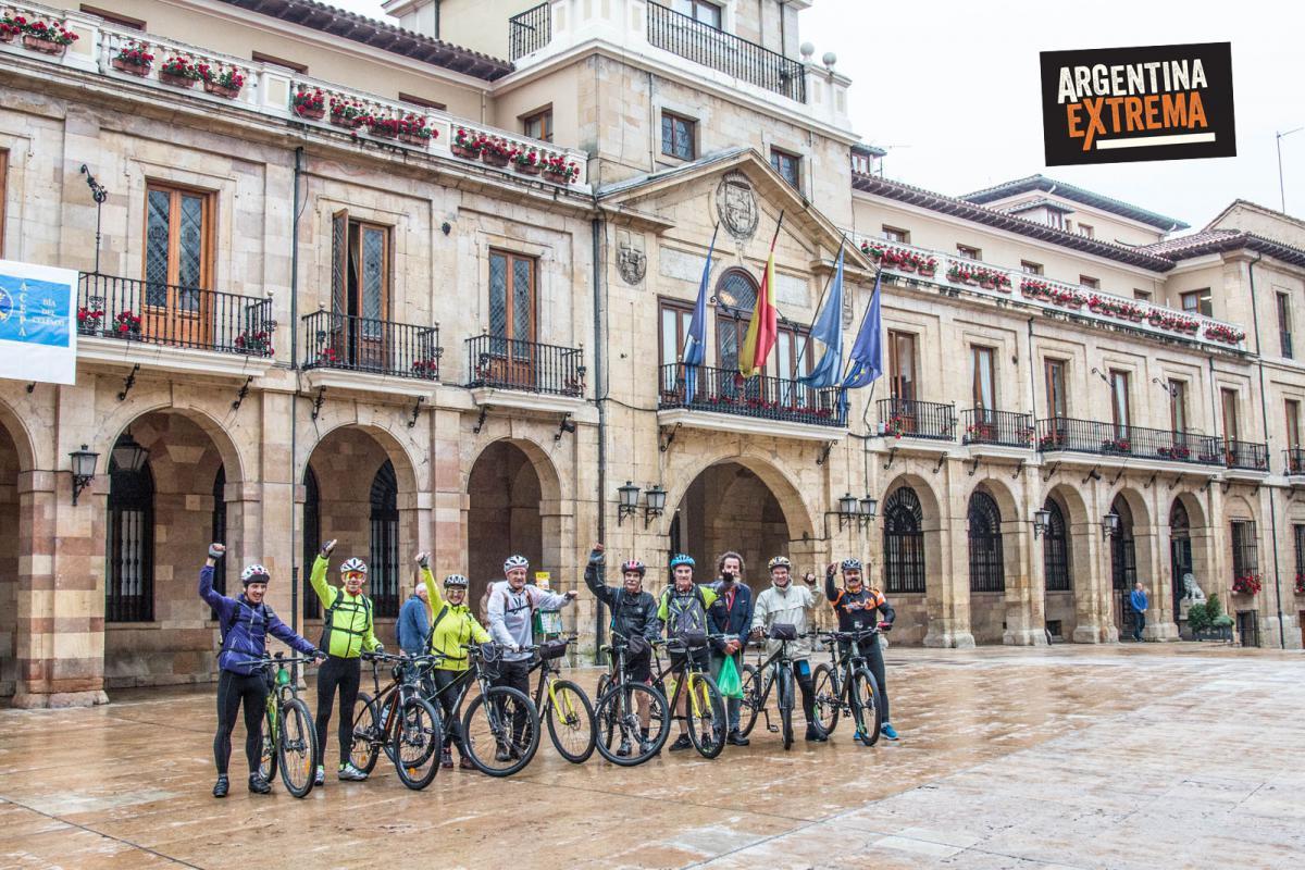 Oviedo - Inicio del camino primitivo - AEX