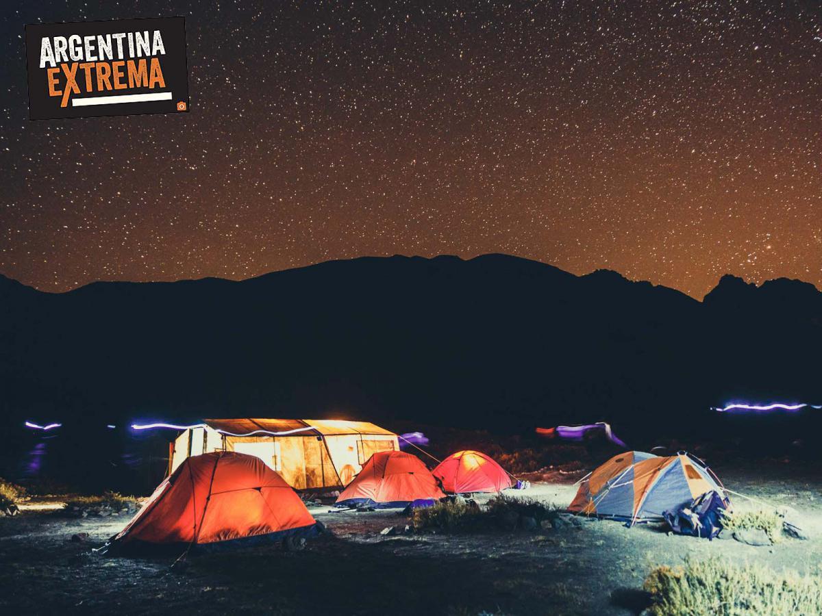 campamento en El Barroso