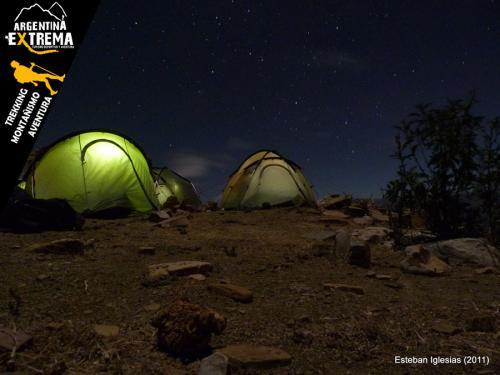 campamento en Yuto Pampa
