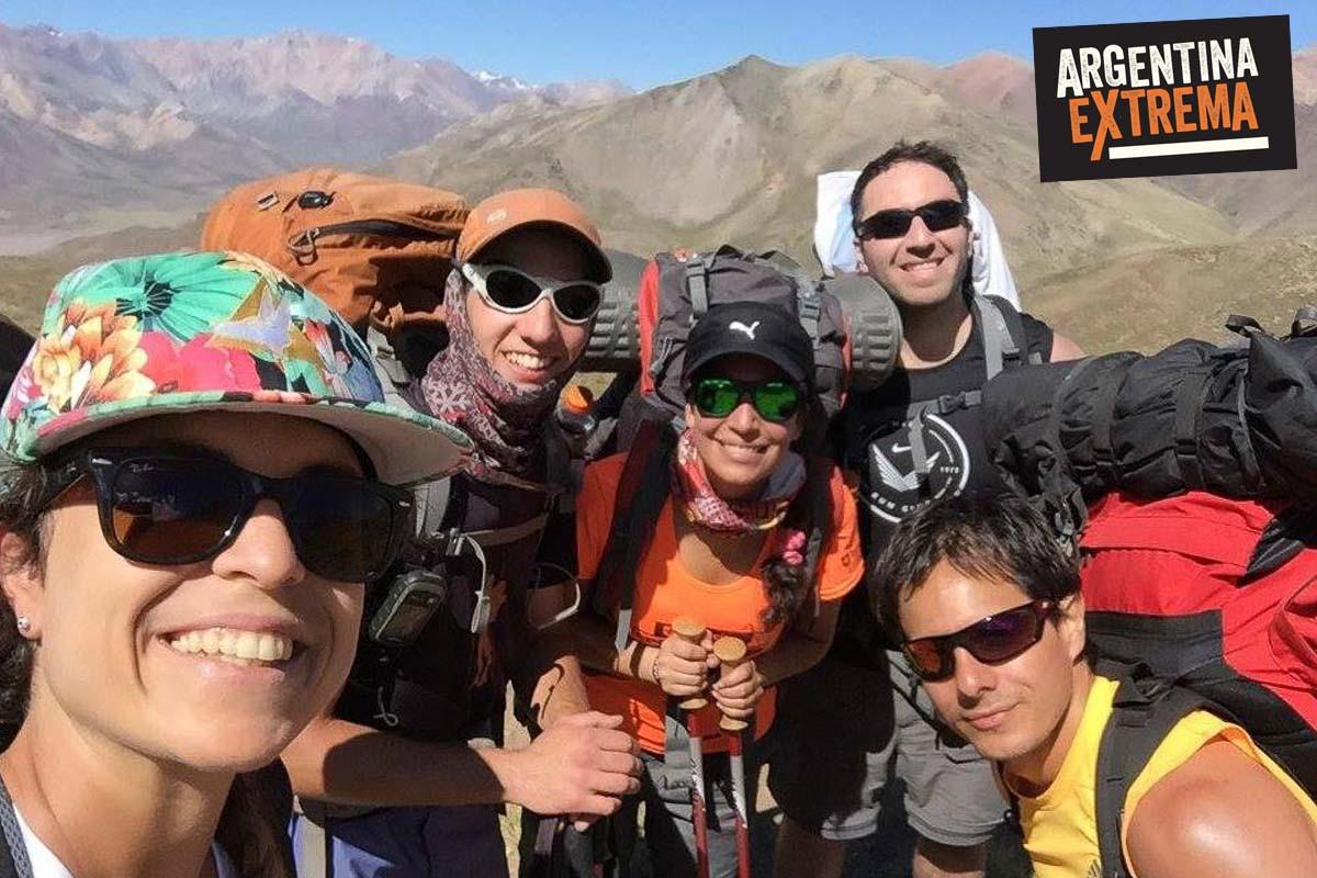 cerro horqueta los molles mendoza trekking ascenso 02