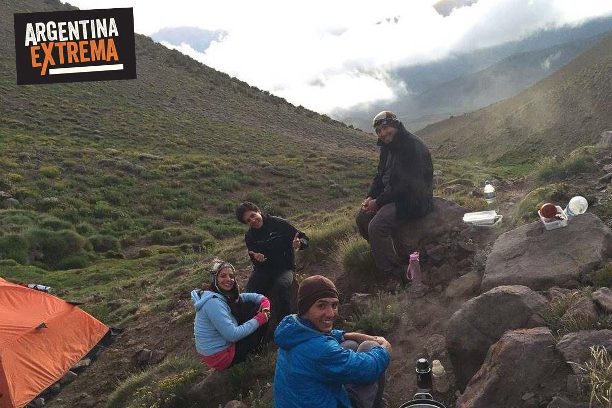 cerro horqueta los molles mendoza trekking ascenso 03