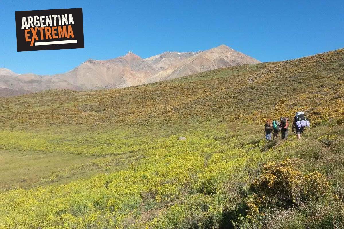 cerro horqueta los molles mendoza trekking ascenso 04