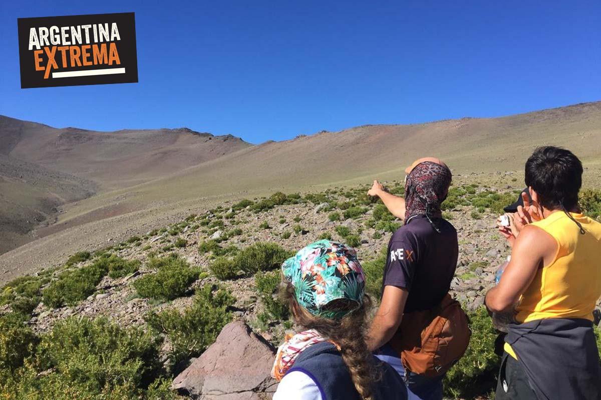 cerro horqueta los molles mendoza trekking ascenso 06