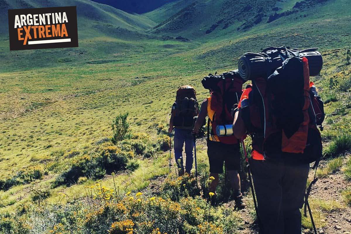 cerro horqueta los molles mendoza trekking ascenso 07