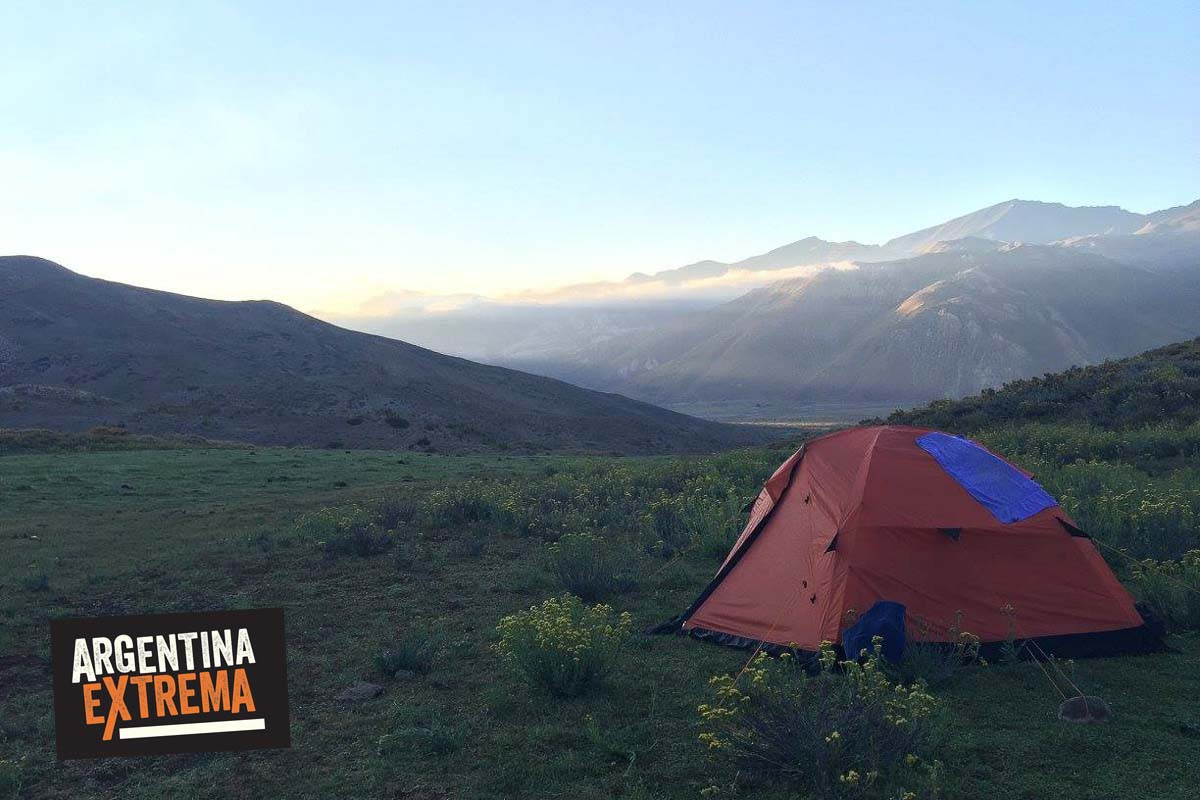 cerro horqueta los molles mendoza trekking ascenso 09
