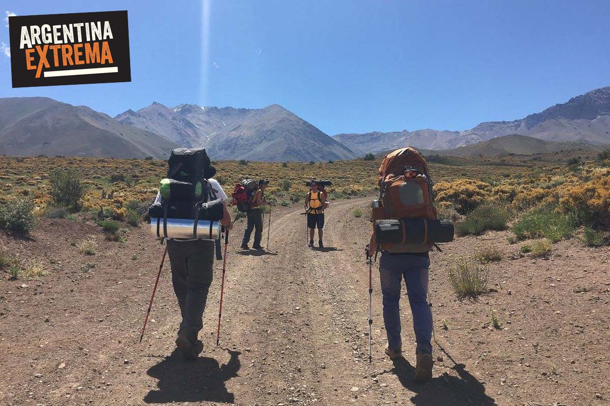 cerro horqueta los molles mendoza trekking ascenso 10
