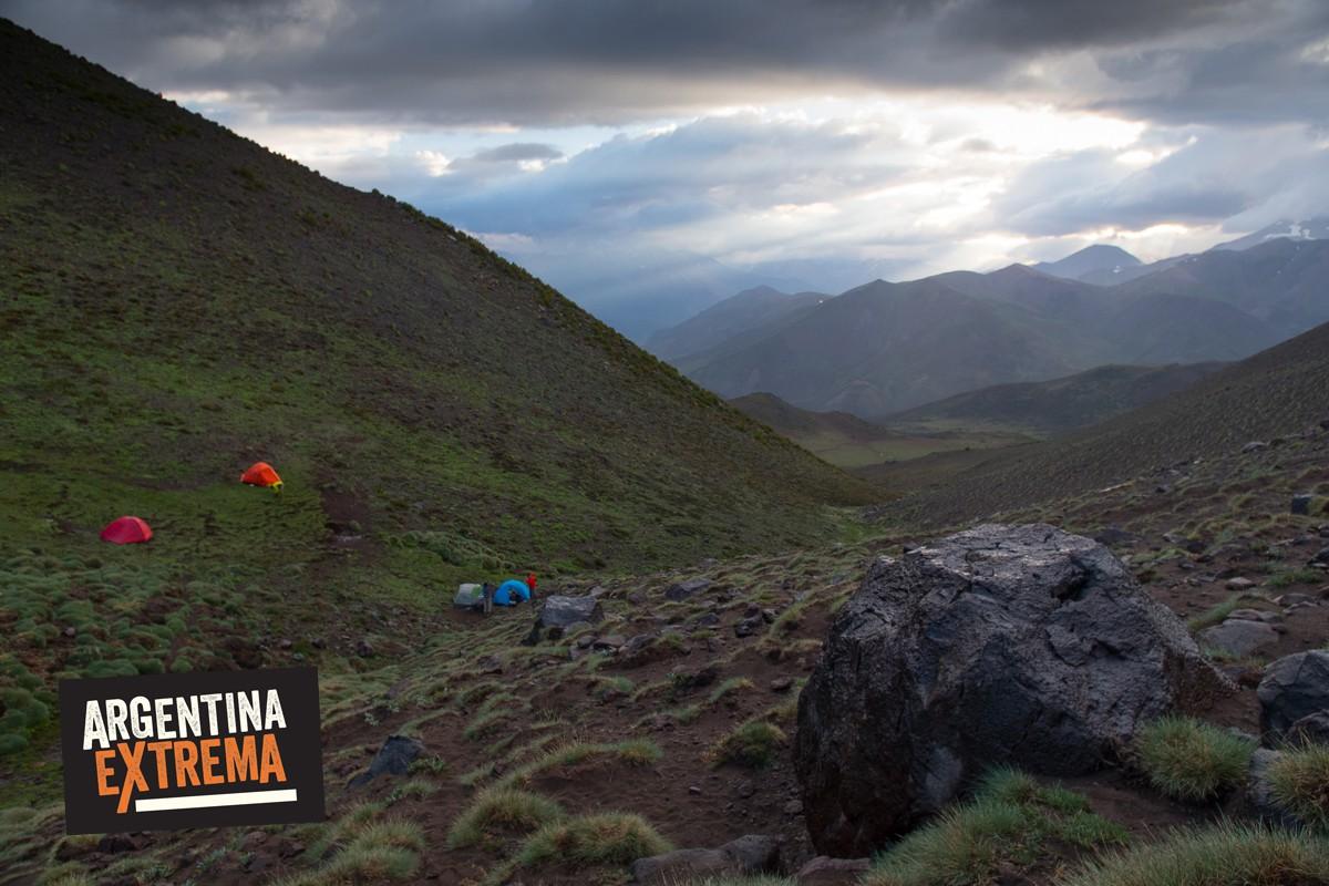 cerro horqueta los molles mendoza trekking ascenso 11