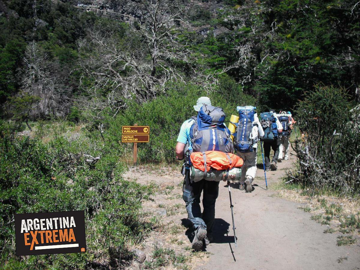 cruce de los andes trekking