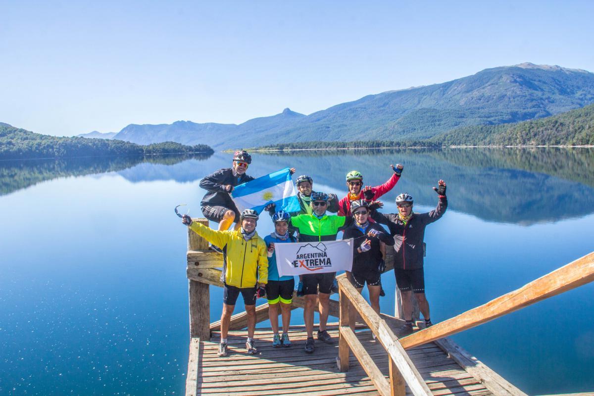Lago Lacar - Cruce de los Andes en MTB